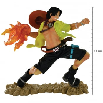 One Piece - Portgas D. Ace - 20th Figure - SCultures the TAG Team - Bandai Banpresto