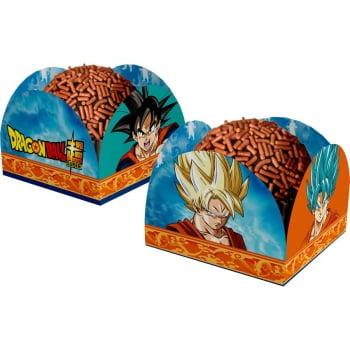 Porta Forminha para Doces - Dragon Ball Super - 40 unidades - Festcolor