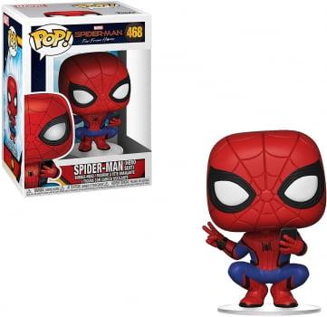 Funko Pop Homem Aranha 468 - Spiderman Hero Suit