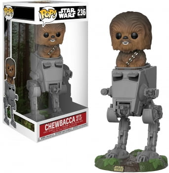 Star Wars - Chewbacca With AT-ST 236 Funko Pop