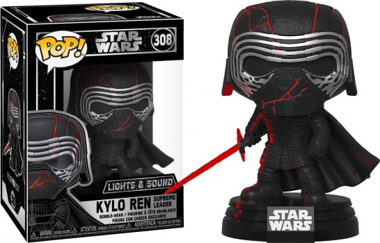 Star Wars - Electronic Kylo Ren Lights & Sound 308 Funko Pop