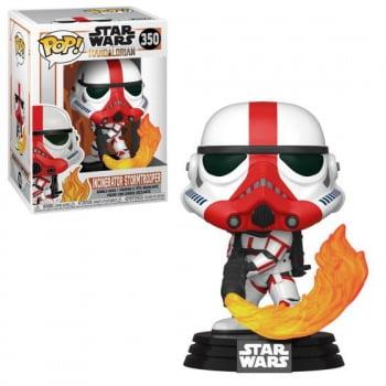 Star Wars The Mandalorian - Incinerator Stormtrooper 350 Funko Pop