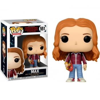 Funko Pop Max With Skateboard 551 Stranger Things
