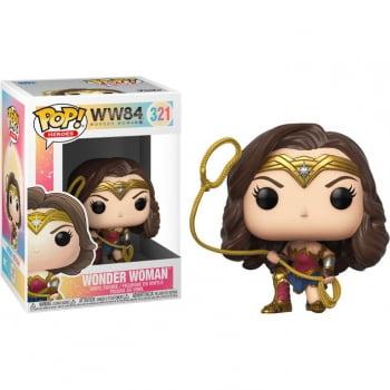 Funko Pop Mulher Maravilha Lasso 321 Wonder Woman 1984