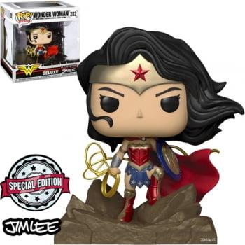 Funko Pop Mulher Maravilha Deluxe 282 Jim Lee Wonder Woman