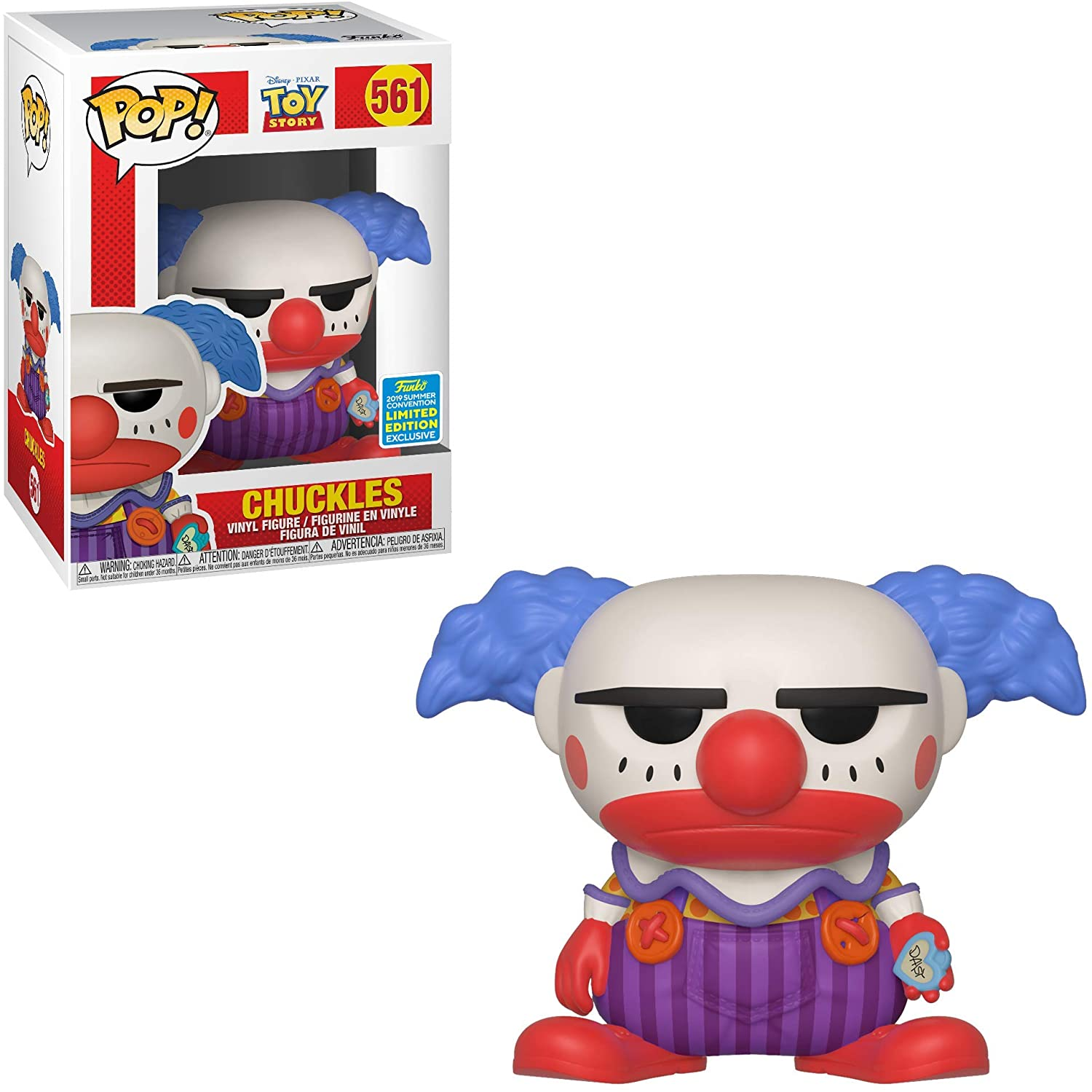 Toy Story - Chuckles 561 Funko Pop SDCC Exclusive