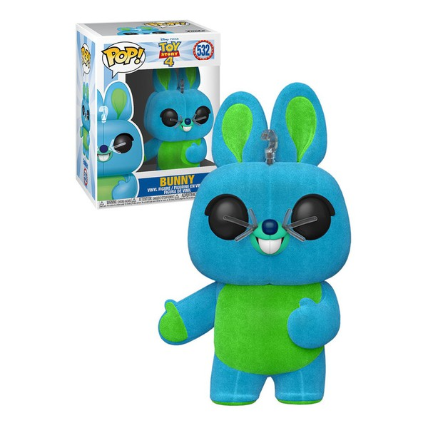 Toy Story 4 - Bunny Flocked 532 Exclusive Funko Pop