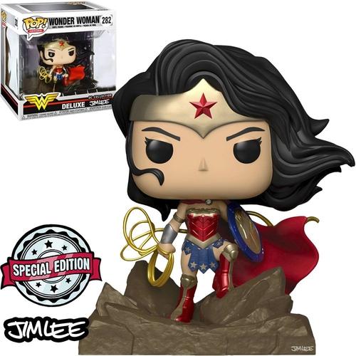 Wonder Woman Mulher Maravilha Deluxe 282 Funko Jim Lee